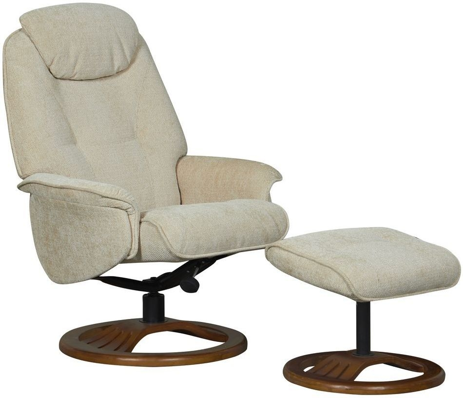 Gentil GFA Oslo Fabric Recliner Chair For Sale