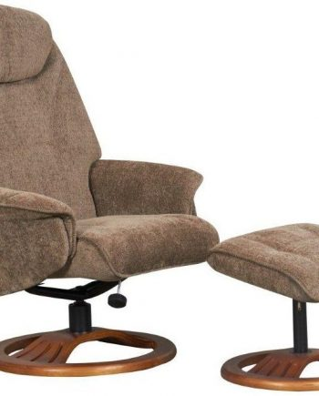 GFA Oslo Fabric Recliner Chair For Sale