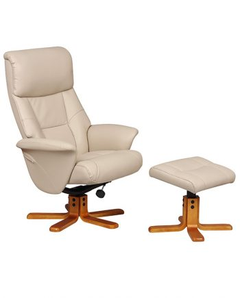 GFA Marseille Leather Recliner Chair