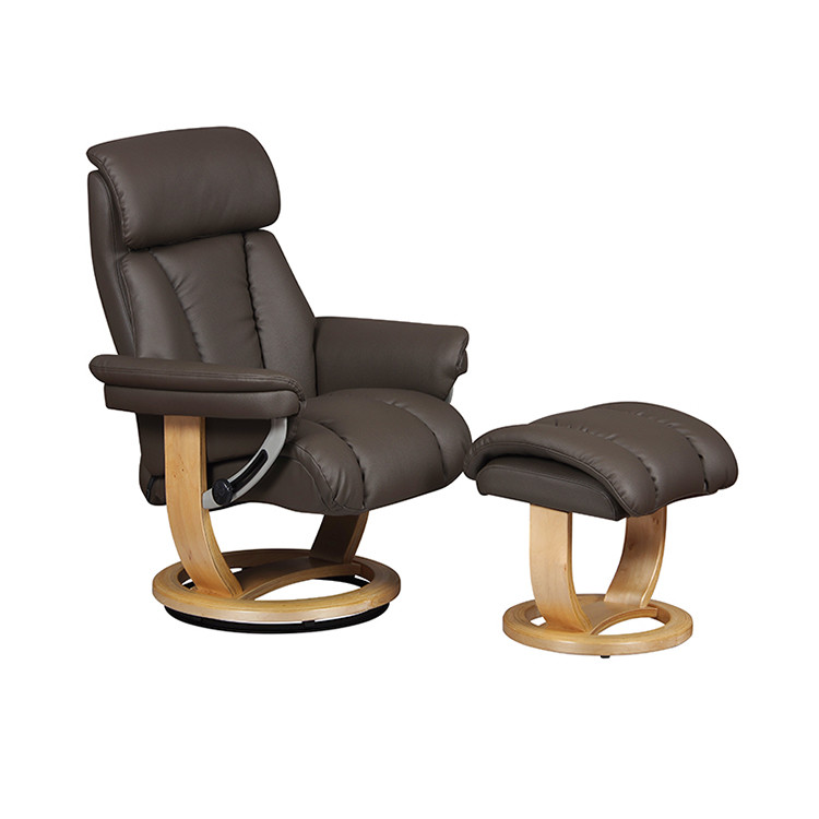 GFA Portifino Leather Recliner Chair For Sale