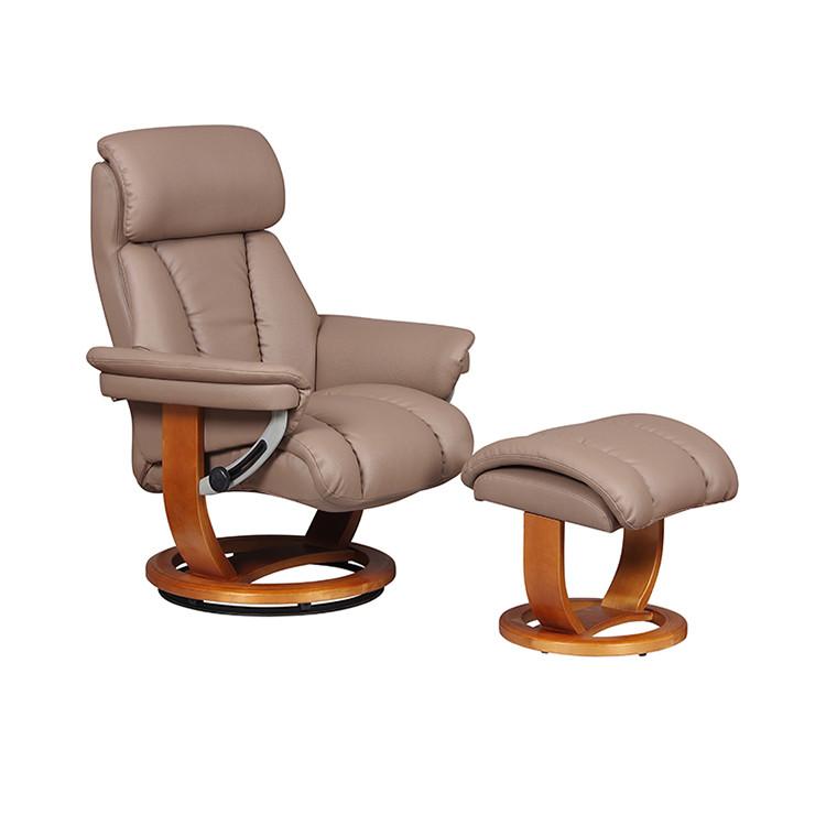 GFA Portofini Leather Recliner Chair For Sale