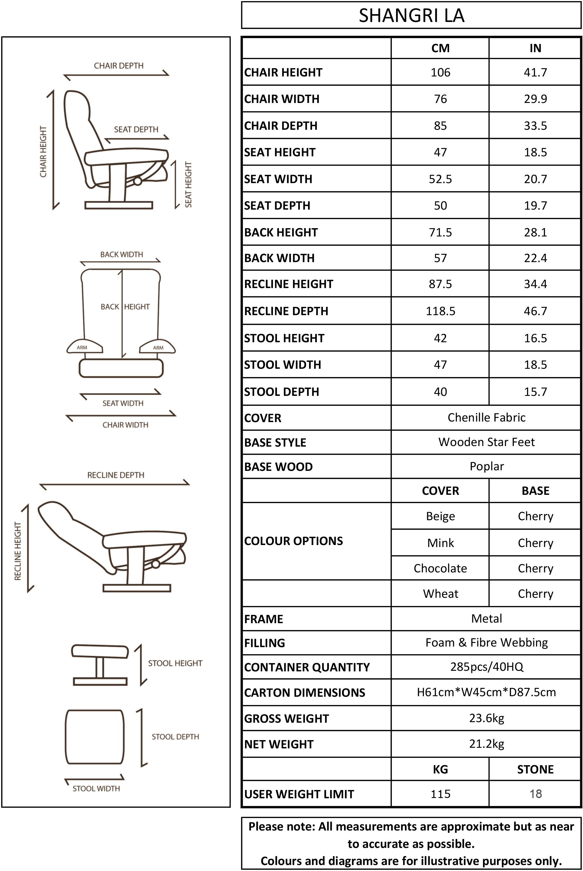 Oriental Leather Co Ltd Shangri La Chenille Fabric Swivel