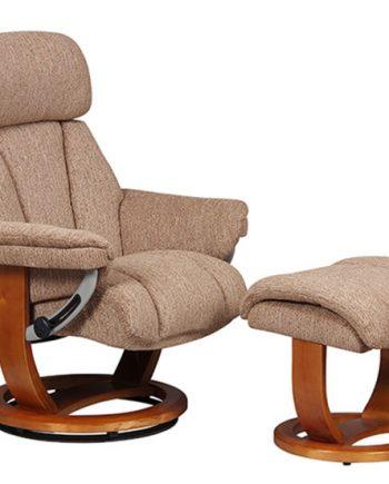 GFA Portofino Fabric Recliner Chair