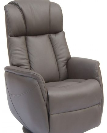GFA Sorrento Electric Rock & Swivel Recliner Chair Espresso Highgate Furniture