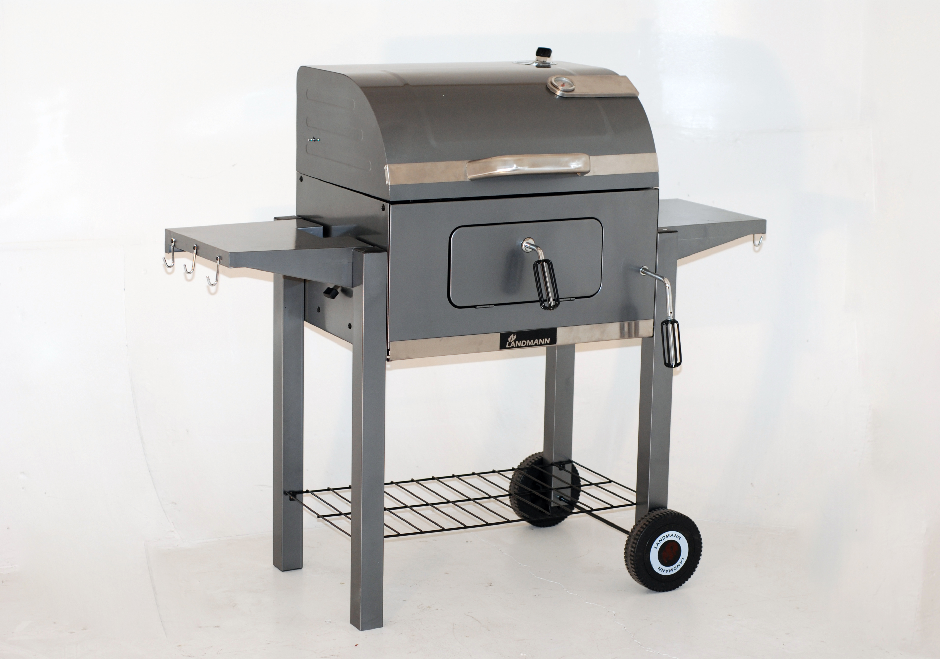 landmann tennessee charcoal broiler bbq 42cm x 56cm