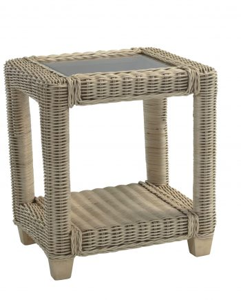 Desser Rattan Burford Lamp Table