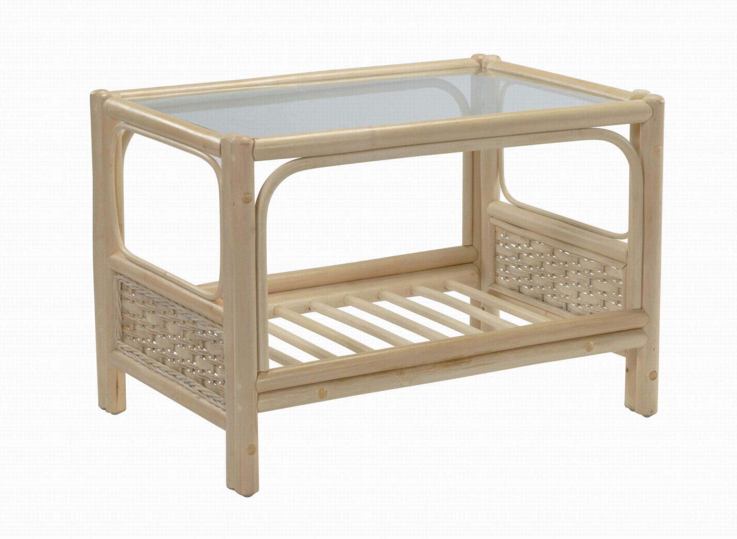 Desser Chelsea Rattan Coffee Table