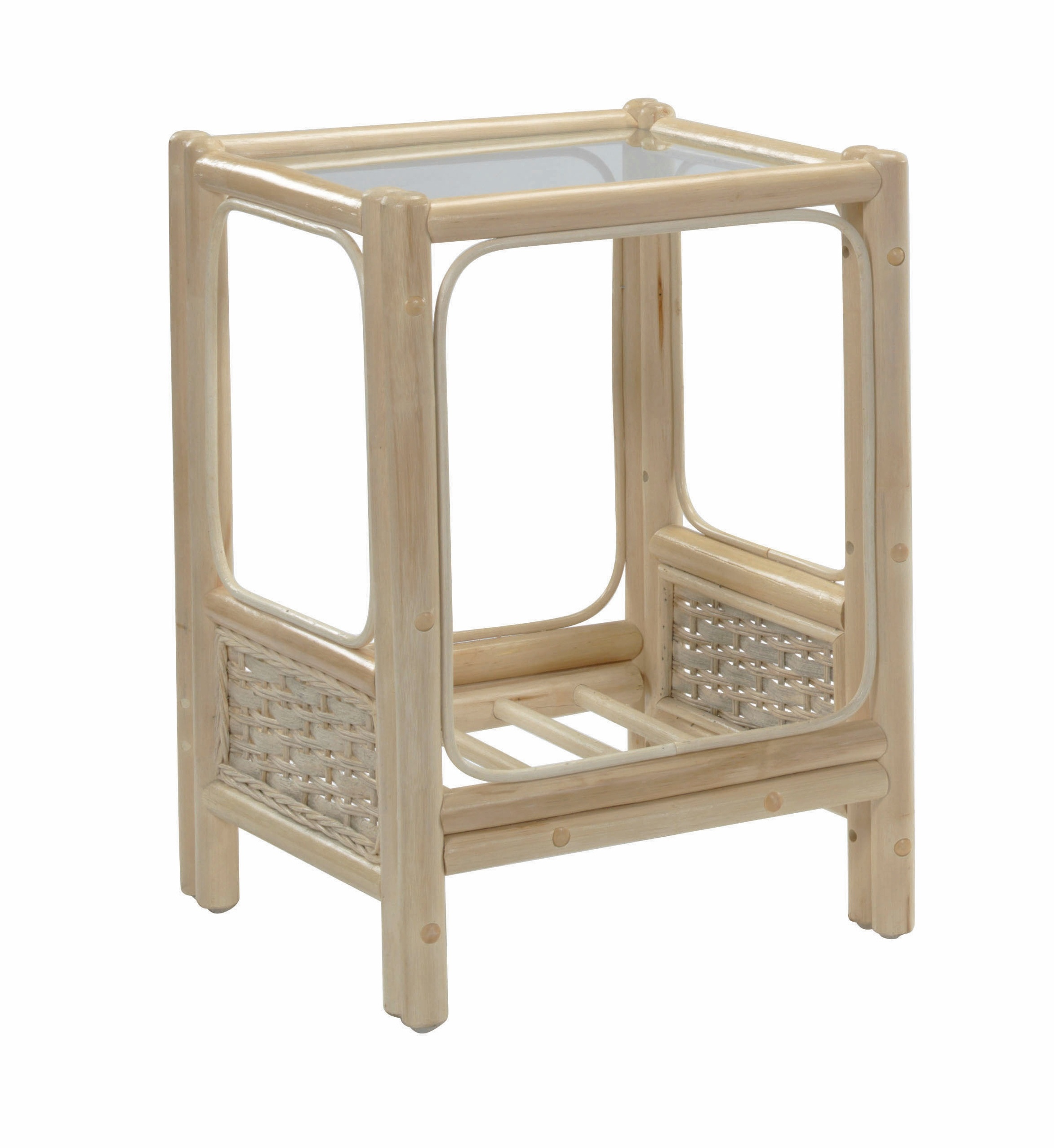Desse Chelsea Rattan Lamp table sold at Highgate Furniture Southend On sea
