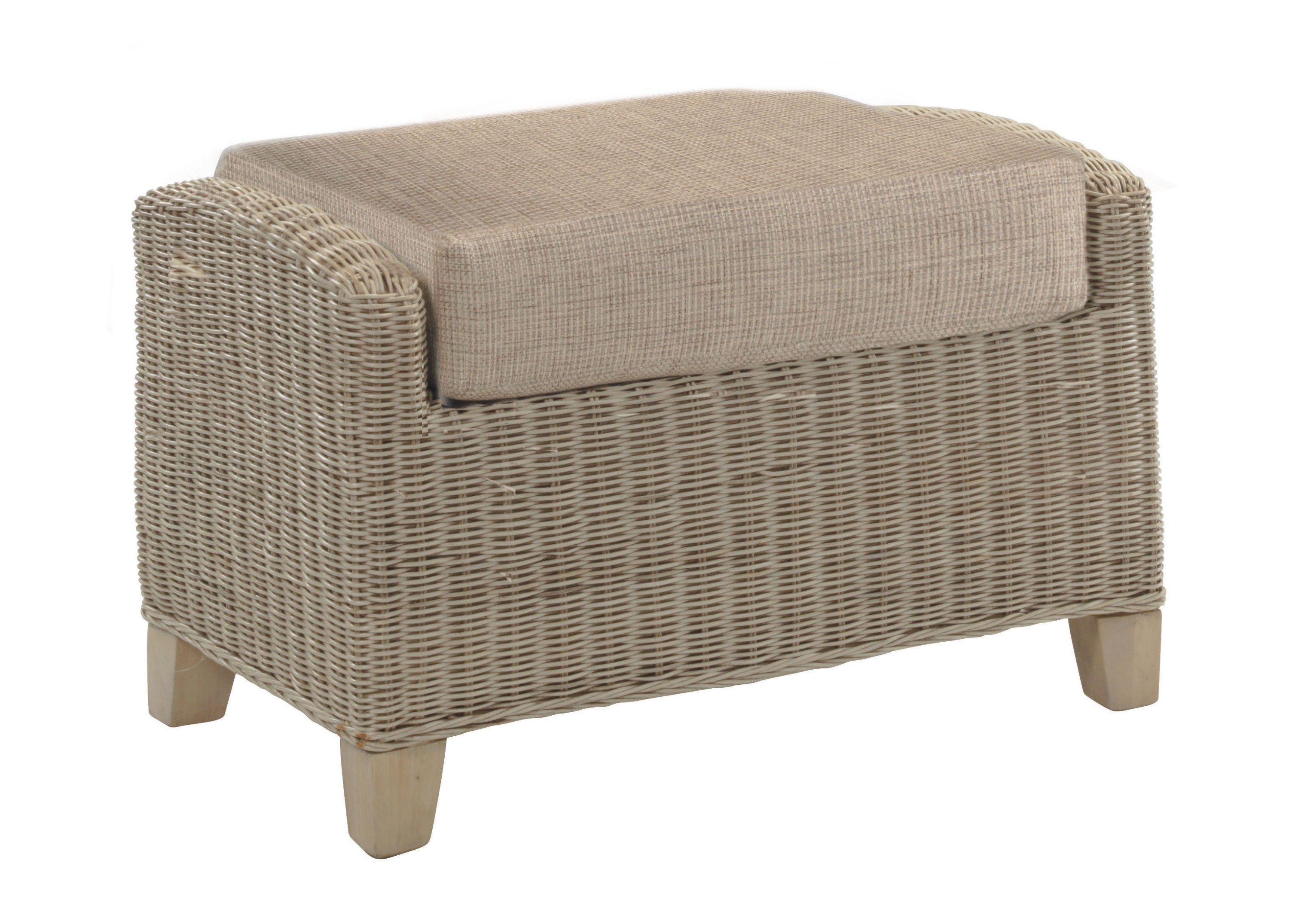 Desser Corsica Footstool with storage sold at Highgate Furniture Southend On Sea