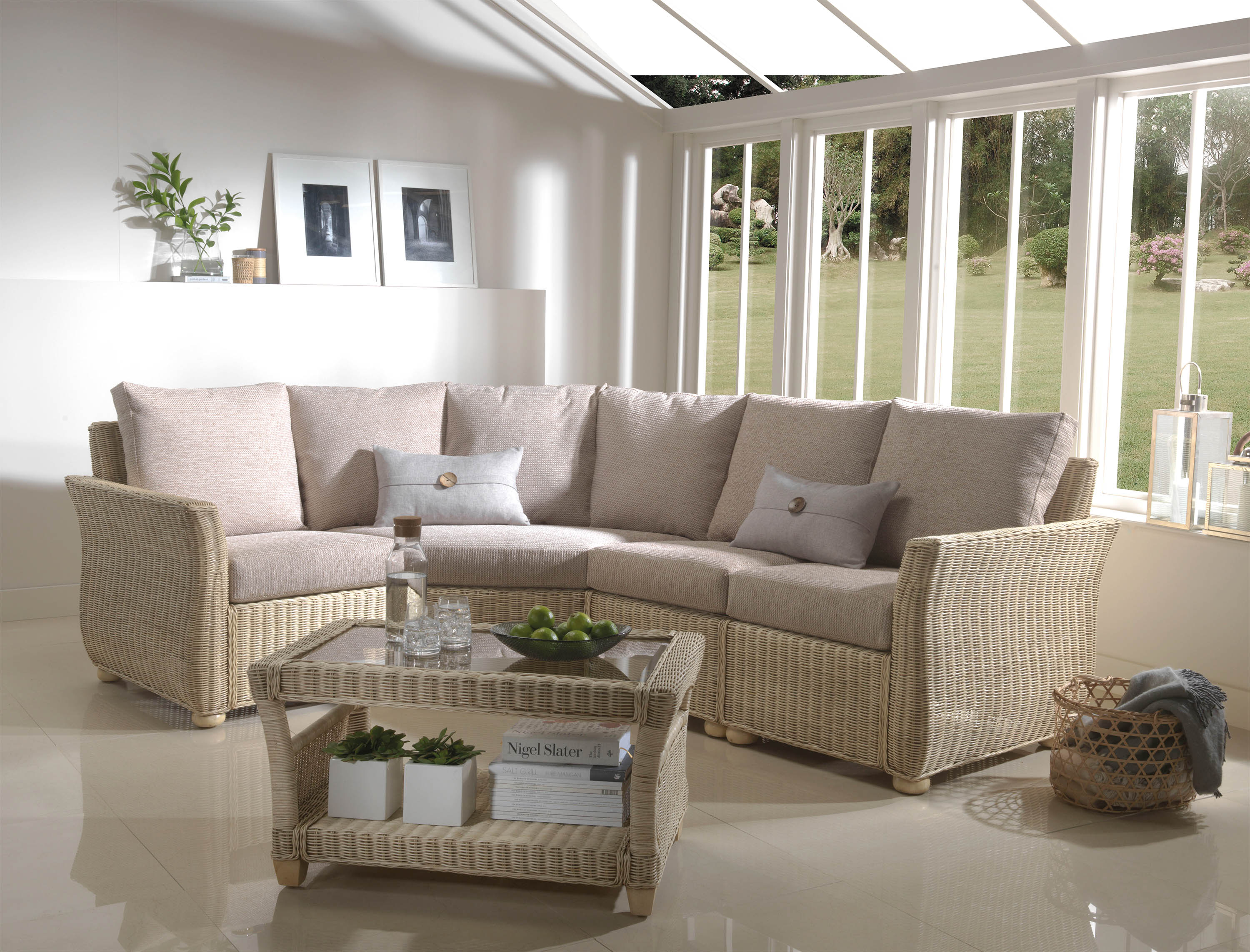 Desser Corsica Modular Conservatory Sofa Suite Sold by Highgate Furniture Southend On Sea