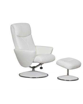 GFA Alizza Recliner chair White Highgate Furniture Southend On sea Essex