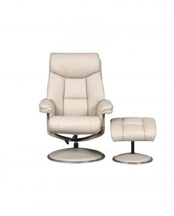 GFA Birritz Recliner Chair Bone Highgate Furniture Southend Ion sea Essex