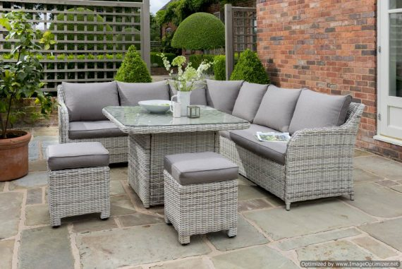 Highgate Blakeney Garden Corner set Sold at Highgate Furniture Southend On Sea Essex