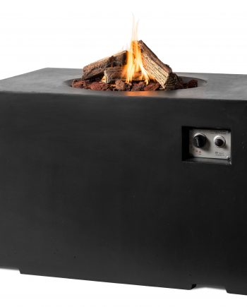 Happy cocooning Gas Rectangular fire pit Sold at Highgate Furniture Essex