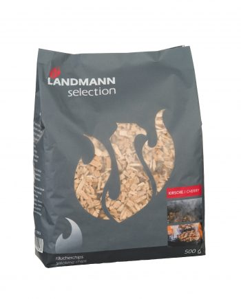 13953 landmann selection cherry smoking chips available from highgate furniture in a 500g resealable bag, please visit the highgate furniture showroom in southend on sea Essex or call us on 01702 414030.
