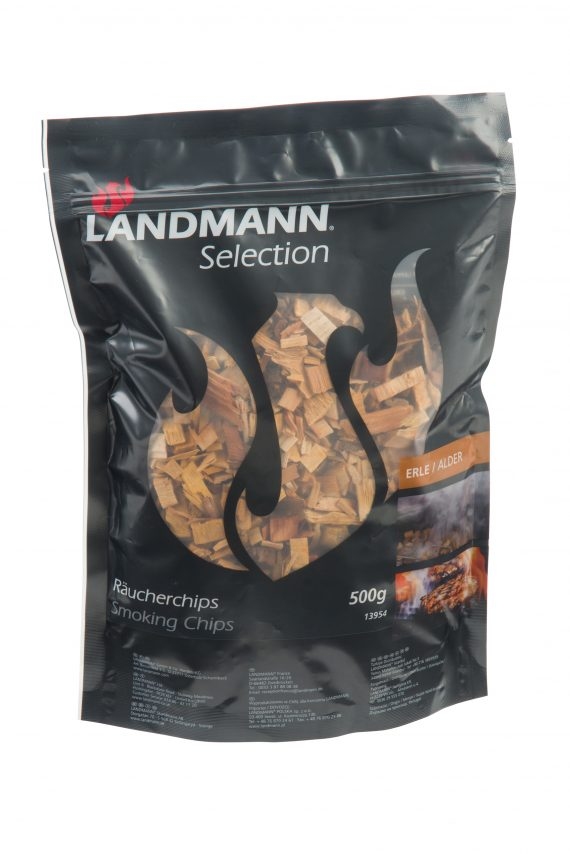 13954 sandman smoking alder wood chips 500g resealable bag available from highgate furniture Using Landmann Alder Wood Chips couldn't be easier and will add new flavours and fun to your BBQ experience. Can be used on any BBQ with a lid or in Landmann Smokers. available from Highgate Furniture please visit our showroom in southend on sea Essex or call us on 01702 414030.
