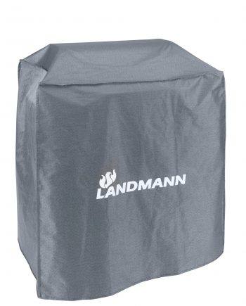 15706 Landmann premium BBQ cover Suitable for use with the following Landmann barbecues: Triton 3 burner models 12930, 12931, 12932 Big Landmann Ceramic barbecue 11501 Tennessee Broiler 11507 (11430) Rainproof, UV resistant and breathable. Available at Highgate Furniture please visit our large showroom in Southend on sea Essex or call us on 01702 414030