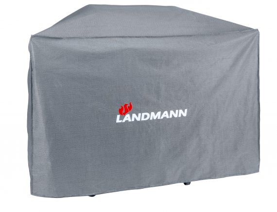 15722 Landmann Premium BBQ cover suitable for the sandman Avalon 3.1 with PTS BBQ. iIt is also suitable for barbecues with set up dimensions W 159 x H 122 x D 78.5cm available from the Highgate Furniture showroom in southend on sea Essex please call us on 01702 414030.