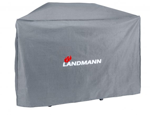 15723 Landmann BBQ cover recommended for the Landmann Avalon 6.1 PTS BBQ but it is also suitable for other BBQ's for other barbecues with set up dimensions W 192.5 cm x H 122 cm x D 78.5 cm available to purchase directly from the highgate furniture showroom in southend on sea Essex or you can call us on 01702 414030.