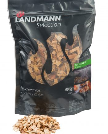 16301 sandman smoking chips juniper in 500g resealable bags available at Highgate furniture.Using Landmann juniper Wood Chips couldn't be easier and will add new flavours and fun to your BBQ experience. Can be used on any BBQ with a lid or in Landmann Smokers. available to purchase from our large showroom please visit us in southend on sea Essex or call us on 01702 414030