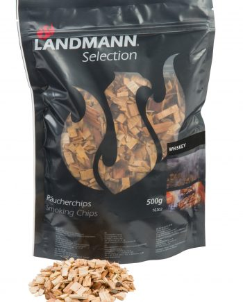 16302 landmann selection smoking chips Using Landmann Whiskey Wood Chips from Highgate furniture couldn't be easier and will add new flavours and fun to your BBQ experience. Can be used on any BBQ with a lid or in Landmann Smokers. Available from Highgate furniture please visit our large showroom or call us on 01702 414030
