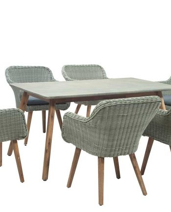 Midori 6 Seater Rectangular Garden Furniture Set Highgate Furniture Southend On sea Essex