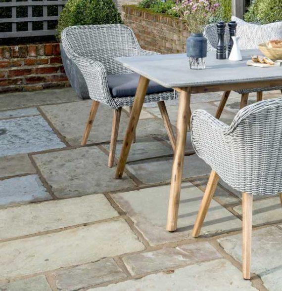 Midori 6 Seater Rectangular Garden Furniture Set Highgate Furniture Southend On sea Essex