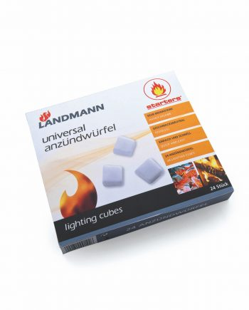 Landmann lighting cubes 0144 available from highgate furniture. These lighting cubes are quick and easy to use, they create an intense heat and are odourless. They are available direct from the highgate furniture showroom, we have a large showroom in southend on sea Essex, or you can call us on 01702 414030