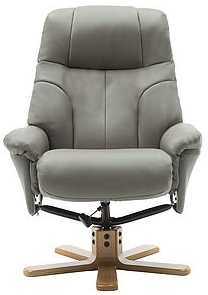 GFA Dubai swivel reclining Chair Grey Sold at Southend On Sea Essex