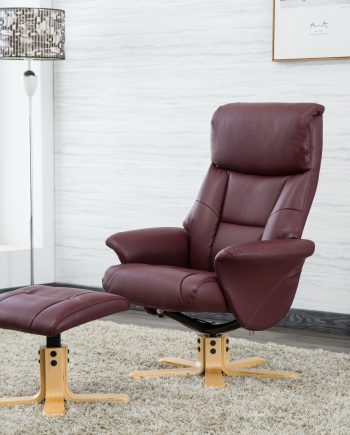 GFA Marseille swivel Reclining Chair sold at highgate Furniture southend on sea essex