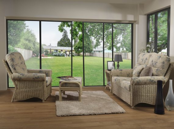Desser Harlow 3 piece Conservatory Furniture Set sold at Highgate Furniture Southend On sea Essex