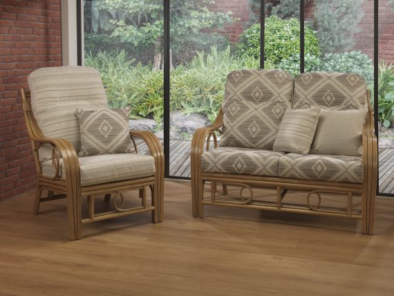 Desser Madrid Conservatory Furniture Set sold at Highgate Furniture Southend On Sea Essex