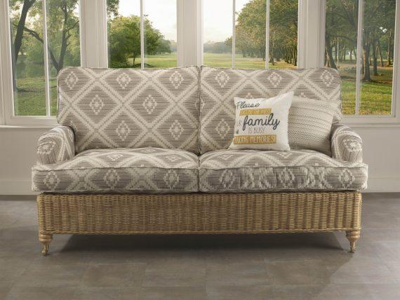 Desser Seville in Light Oak Conservatory Furniture Set sold at Highgate Furniture Southend On Sea Essex