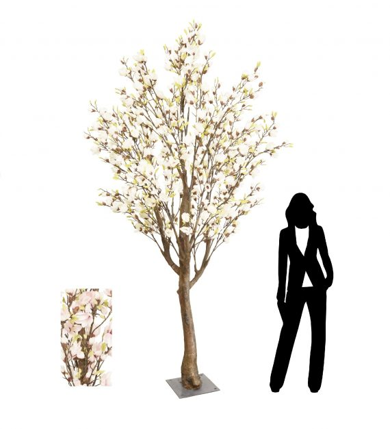 3m Pink Magnolia Artificial Tree