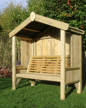 Highgate Wooden Garden Arbour 3 seater