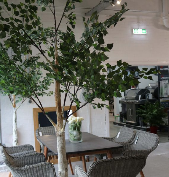 Sincere Floral Artificial Tree Birch Tree 3m Sold at Highgate Furniture Southend On sea Essex
