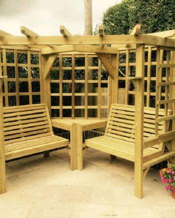 Highgate Wooden Corner Garden Arbour