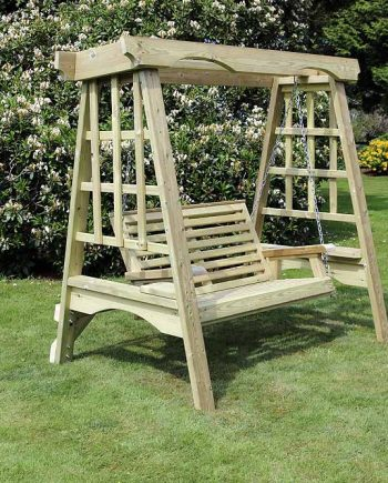 Highgate Wooden Garden Swing Seat