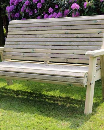 Highgate 3 Seater Wooden Bench Sold at Highgate Furniture Southend ON SEA