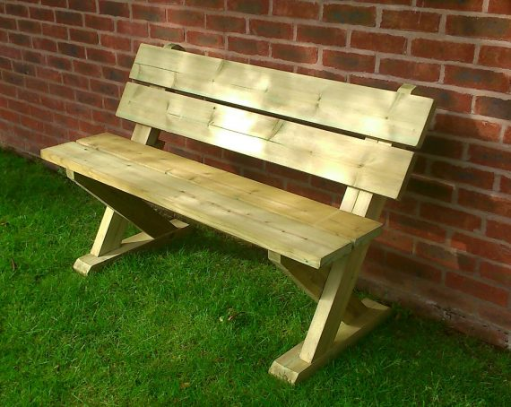 Highgate Wooden Garden bench