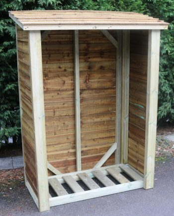 Highgate Wooden Log store 6 x 4 sold in southend on sea Essex