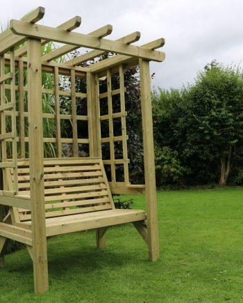 Highgate Wooden Brompton Garden Arbour