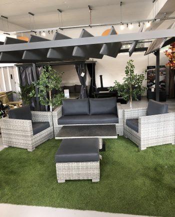 Life Aya lounge set on display at highgate furniture southend on sea Essex