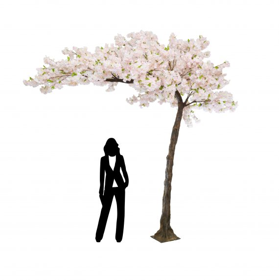 3.2m Pink Canopy Cherry Blossom Artificial Tree