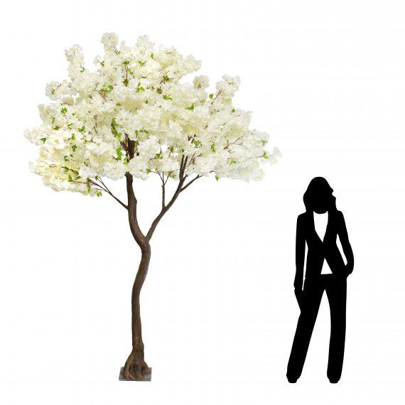 Highgate 280cm Cream Cherry Blossom Artificial Tree
