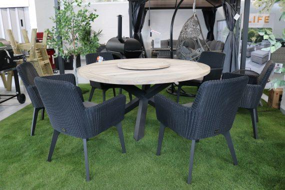 4 Seasons Lisboa Teak 6 Seater Dining set sold a t Highgate Furniture