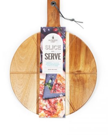 Alfresco chef Slice & Serve Pizza Board sold at highgate furniture southend on sea Essex