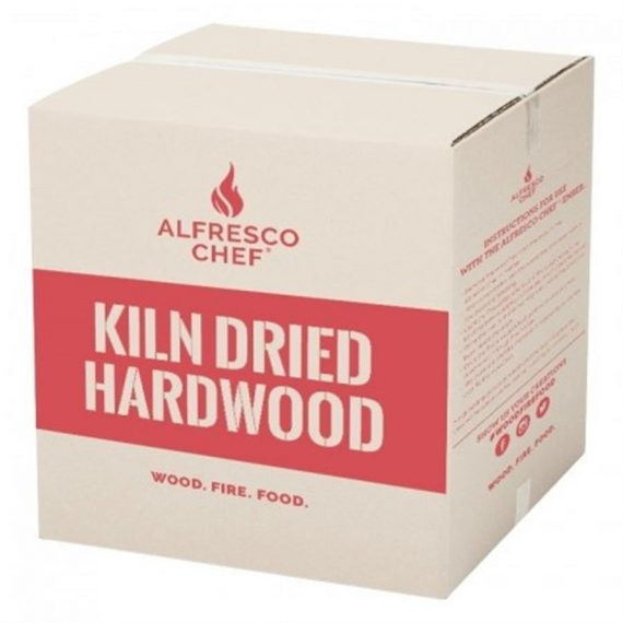 Alfresco Chef Kiln Dried Hardwood 5KG, cut Prices of Kiln dried hardwood perfect for use with the Alfresco Chef Ember Portable Wood Fired Oven.