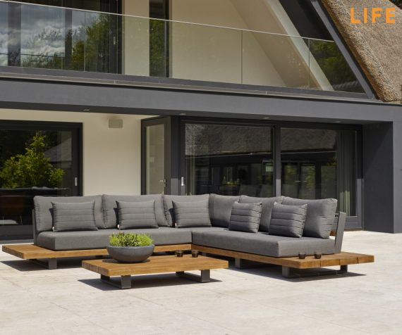 Life Garden Teak Furniture Fitz Roy Lounge Set