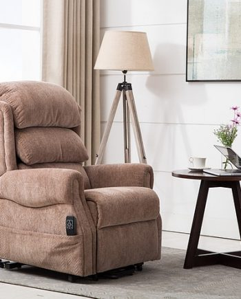 The Agatha Riser Recliner features a Dual motor mechanism which is designed to allow the leg rest and backrest to be adjusted independently. The Agatha is ideal for anyone who struggles standing from a seated position or lowering themselves into a comfortable position. HR Foam ​ ​ Kaidi Motor ​ ​ Easy to Use Remote Control ​ ​ Waterfall Style Backrest ​ ​